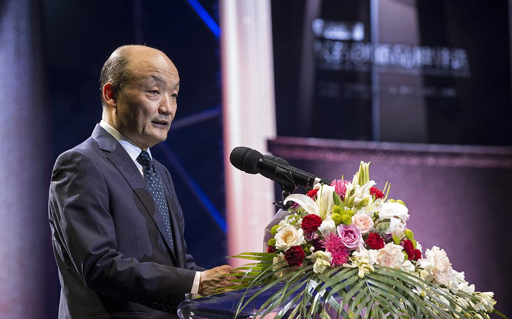 中国药促会执行会长宋瑞霖致辞